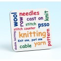 5230 Coaster KNITTING WORDS