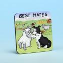5205 BEST MATES Coaster
