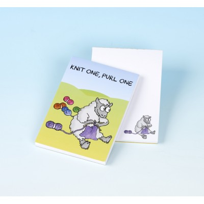 3161 KNIT ONE, PURL ONE Note Pad
