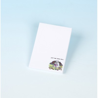 3168 JUST ONE MORE ROW Mini Jotter