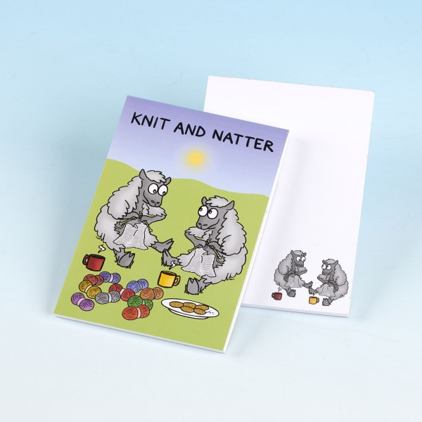 3171 KNIT AND NATTER Note Pad