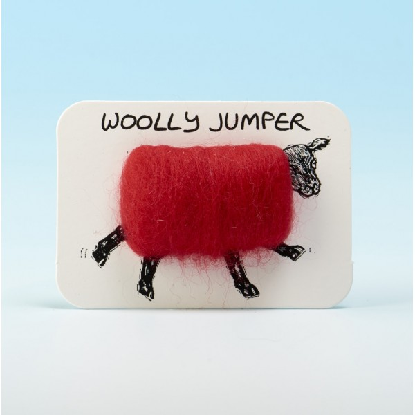 4101 Woolly Fridge Magnet- WOOLLY JUMPER-Assorted Colours