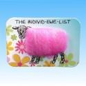 """4102 """"THE IDIVID-EWE-LIST"""" Pink"""