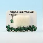 4114 Woolly Fridge Magnet-GOOD LUCK TO EWE