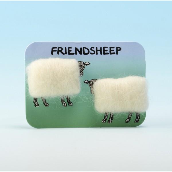 4118 Woolly Fridge Magnet-FRIENDSHEEP
