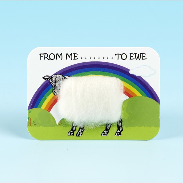 4120 Woolly Fridge Magnet-FROM ME TO EWE