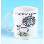 5136 Mug ID RATHER BE KNITTING