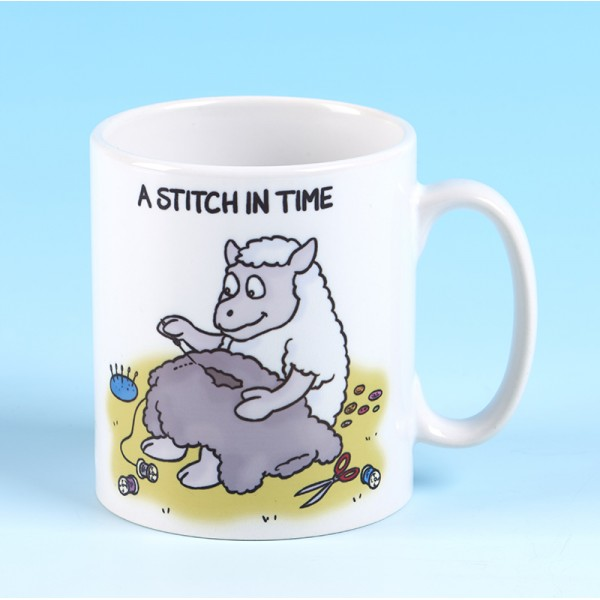5141 Mug A STITCH IN TIME