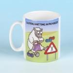 5146 Mug CAUTION KNITTING IN PROGRESS
