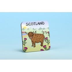 5209 HIGHLAND COW Coaster