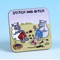 5239 Coaster STITCH AND BITCH