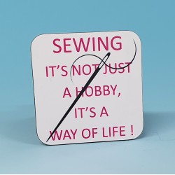 5252 Coaster SEWING-ITS NOT JUST A HOBBY