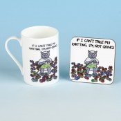 BONE CHINA MUG AND COASTER SETS