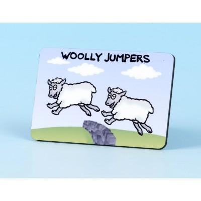 6118 Fridge Magnet WOOLLY JUMPERS