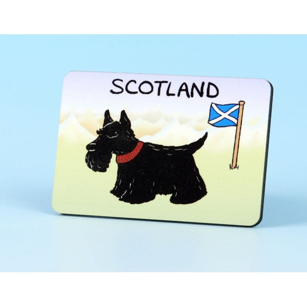 6125 Fridge Magnet SCOTTIE DOG