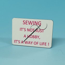 6159 Fridge Magnet SEWING-ITS NOT JUST A HOBBY
