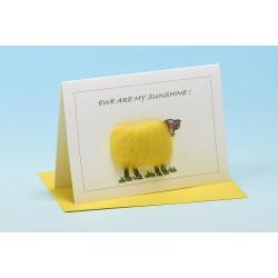 "S23 ""EWE ARE MY SUNSHINE"" Sheep Card"