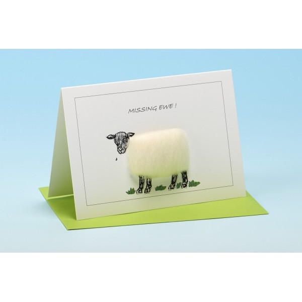 "S9 ""MISSING EWE"" Sheep card"
