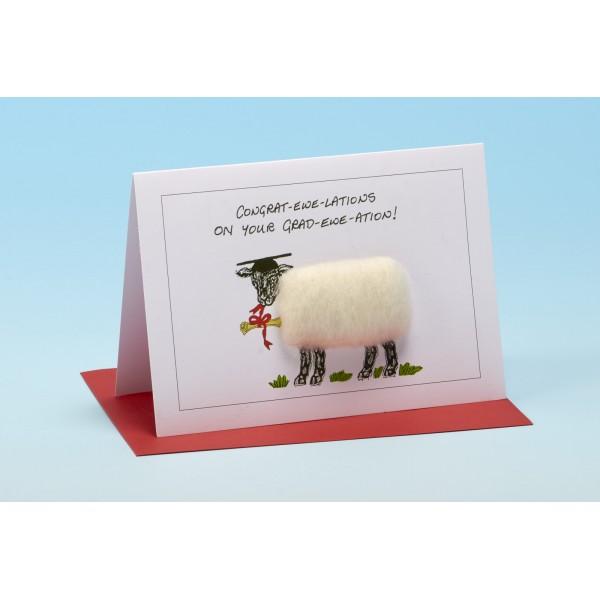 S90 GRAD-EWE-ATION Sheep Card