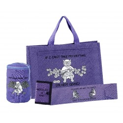 KNITTERS 4 PIECE GIFT SET-LILAC