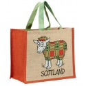 JB12 Souvenir Shopping Bag-Tartan Sheep