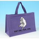 JB19 Knitting Bag-KNIT ONE, PURL ONE Lilac