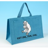 JB20 Knitting Bag-Light Turquoise