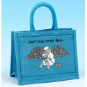 JB44 Crochet/Project Bag-Light Turquoise