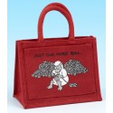 JB45 Crochet/ Project Bag-Red