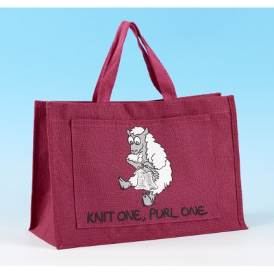 JB42 Knitting Bag-Dark Pink