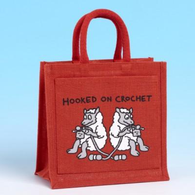JB58 Crochet Bag-BRIGHT RED