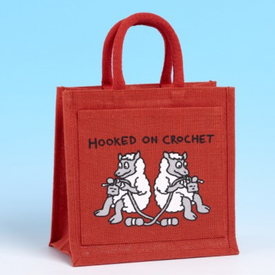 Crochet Bag-BRIGHT RED