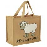 """JB8 """"RE-EWES-ME!"""" Shopping Bag"""