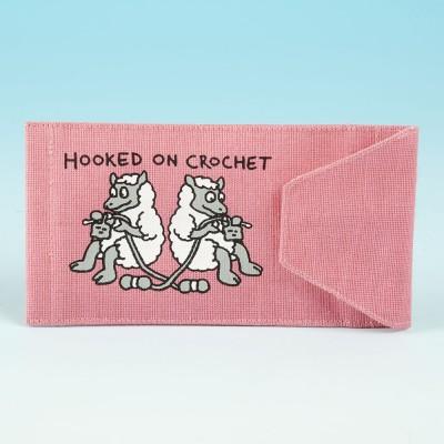 JB88 Crochet Hook Holder-Bright Pink