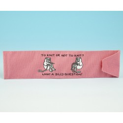 JB91 Knitting Needle Holder-Bright Pink