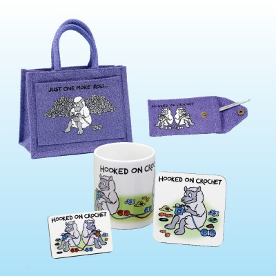 Project Bag Gift Set-Lilac