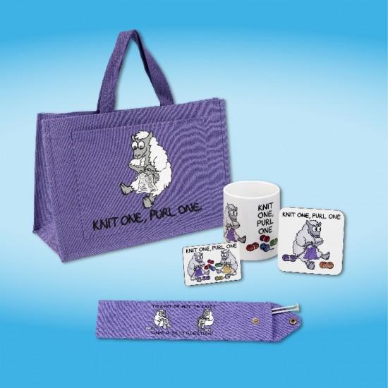 Knitting Gift Set : Knitting gift set lilac