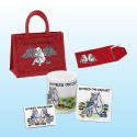 Project Bag Gift Set-Red