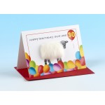 "S130 ""HAPPY BIRTHDAY EWE ARE 30"" Sheep card"