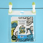 T42-Cotton Tea Towel-IF I CANT TAKE MY KNITTING
