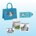 Project Bag Gift Set-Turquoise