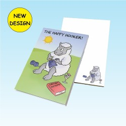 3177 THE HAPPY HOOKER Note Pad