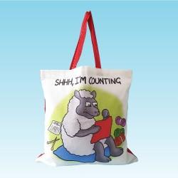 T84 Shopper Bag-SHHH IM COUNTING